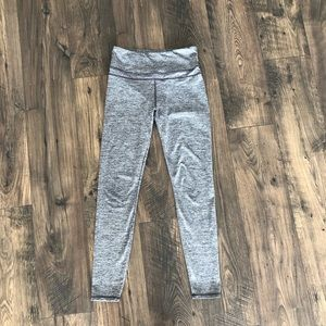 Charcoal High Waisted Rise Active Leggings Bottoms